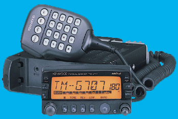 Radio Kenwood TMG-707